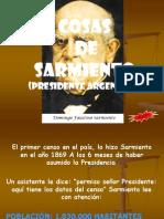Cosas Del Presidente Sarmiento