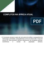 Conflitos Na Africa Atual