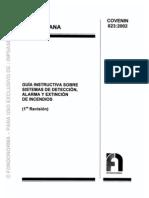Covenin 0823-2002 Guía Instructivas Sistemas