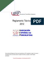 Reglamento IPF 2012-01-01