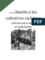 7323162 Invitacion a Los Colectivos Ciclistas Reflexion Acerca de Sus Reivindicaciones