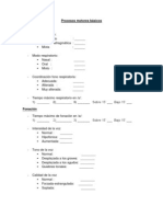 evaluacion Procesos motores básicos