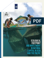 Ecological Footprint and Investment in Natural Capital in Asia and the Pacific