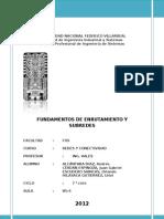 Unfv - Cap-08 Fundamentos de Enrutamiento y Subredes