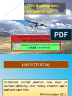 Unmanned Aerial Vehicles for Civil Applications