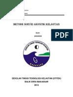 Metode Survei Akustik