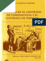 Castillo Freyre, M. - El Precio en El Contrato de Compraventa