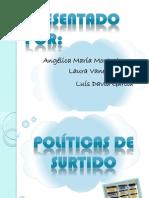 POLÍTICAS A IMPLEMENTAR 001