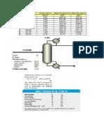 Packed Column Diameter Calculations