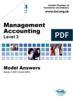 Management Accounting/Series-4-2007(Code3023)