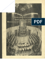 A User's Guide for the Evaluation of Parliamentary Development in the 21st Century