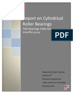 Report on Cylindrical Roller Bearing