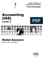 Accounting(IAS)/Series-4-2007(Code3901)