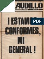 Revista El Caudillo. Buenos Aires. N°  23, Abril, 1974. Año II.