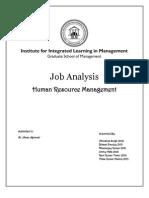 Job Analysis Project