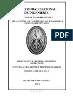 TEORÍA DE PARALELISMO Y PERPENDICULARIDAD