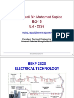 Electrical Technology Overview