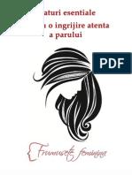 Sfaturi Esentiale Pentru o Ingrijire Atenta a Parului - Frumusete Feminina
