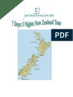 7D 5N New Zealand (9 - 15 Mar2012