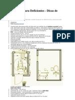 Dimensionamento Banheiro Para Deficientes