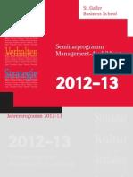 Jahresprogramm SGBS 2012-2013