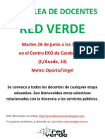 Asamblea de Docentes 26 Junio