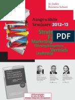 Ausgewählte Seminare 2012-2013