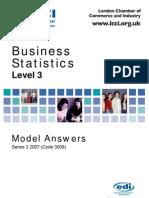 Business Statstics/Series-3-2007(Code3009)