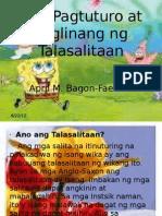 34521822 Pagtuturo Ng Talasalitaan