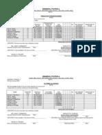 General Payroll PIB @ CA 2012