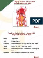 Drillsafe Forum Sep06 Origin Top Drive Rigup Jingemia6 Sheave