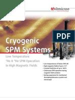 Cryogenic SPM