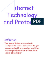 InTERNET Technology and Protocols