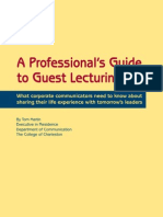 Guide GuestLecturing