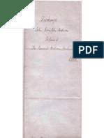 Anderson, John Crompton to Rev Wm Anderson 1851
