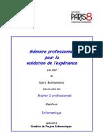 Projet Master - La Voix Du Client - Marc Bonnemains