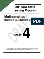 Math Grade 4