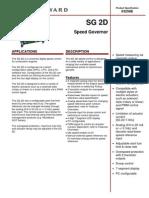 SG2D Governador de Velocidade