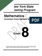 Math Grade 8
