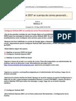 Configurar Outlook 2007 en Cuentas de Correo Personalizadas Con Google Apps