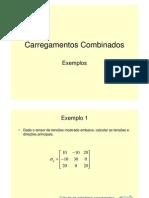 Examplos Carregamentos Combinados II