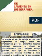Riesgos de Atropellamiento en Mineria Subterranea