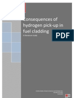 Consequences of Hydrogen Pick-up in Fuel Cladding