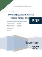 Universal Logic Gates
