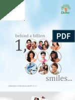 Dabur Annual Report 2011 12