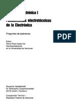 Preguntas de Exámenes Curso de  Electrónica I