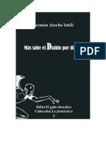 Edita El gato descalzo e-book 2. Más sabe el Diablo por diablo. Germán Atoche Intili (Colección Lo fantástico)