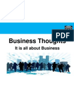 Business Thougts - Business