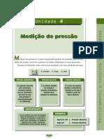 Unidade 4. 1 - Medição de pressão