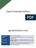 Export Agri Food